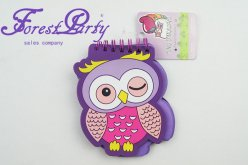 Owl Loose leaf notepad